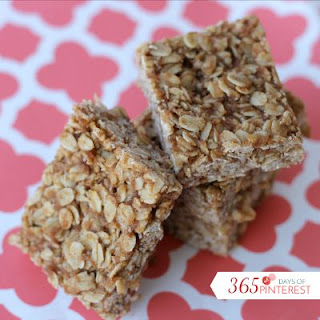 Chewy Oatmeal Breakfast Bars