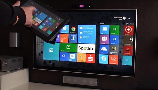 Propojení mobilu s TV - Zrcadleni mobilu na TV - náhled