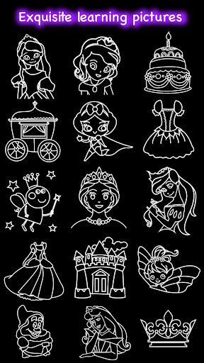 تعلم كيفية رسم لقطات الأميرة 8