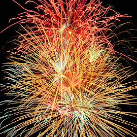 by Shawn Thomas - Abstract Fire & Fireworks
