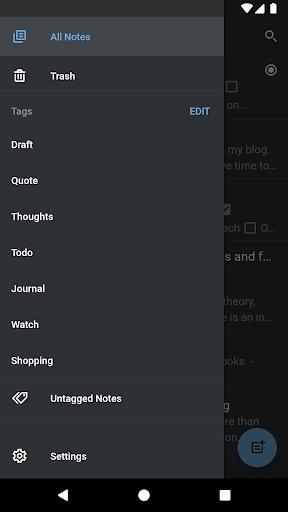 Simplenote screenshot 6