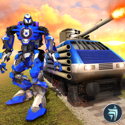 Robot Police Train Transformation FPS Shooter (game)