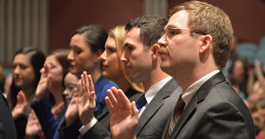 New Admittees Swearing-In Ceremony (Fall 2016)