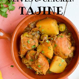 Chicken, Olives And Preserved Lemon Tajine.