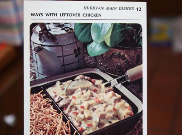 Chicken-mushroom Ala King Recipe