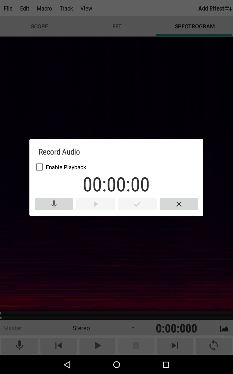 WaveEditor for Android™ Audio Recorder & Editor Screenshot 12