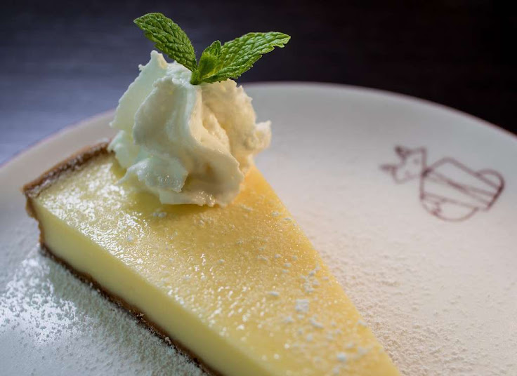 The Lemon Tart at Monsieur Benjamin.  Photo: John Storey.