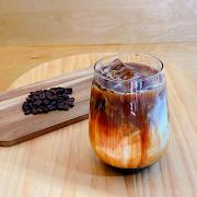 Brown sugar oatly latte