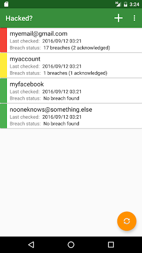 Hacked? - have i been pwned? 3.1.9 screenshots 1