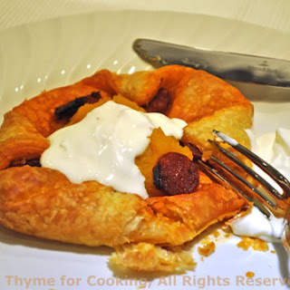 Butternut Squash Pastry with Chorizo.