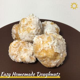 Easy Homemade Doughnuts Recipe