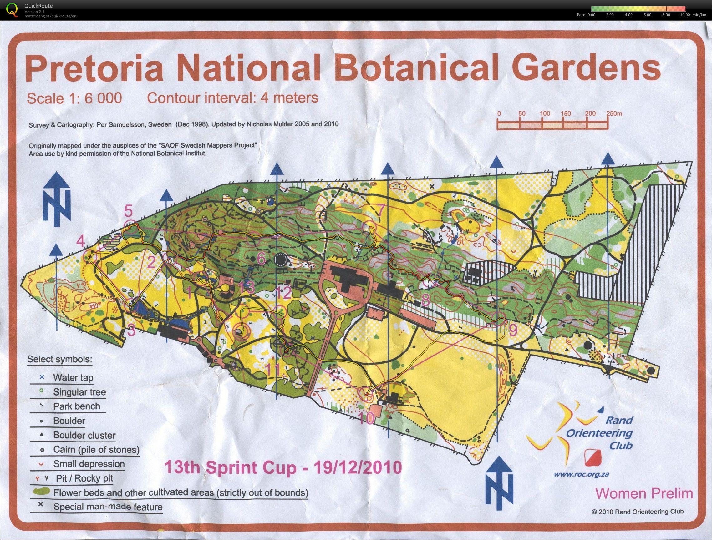 Photo: Sprint Cup (prelim) - PTA Botanical Gardens