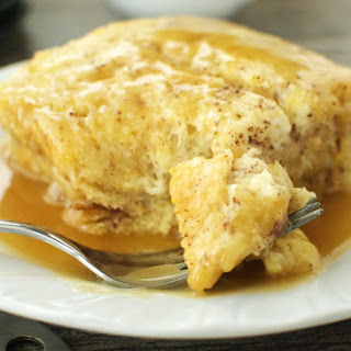 Easy Bread Pudding.