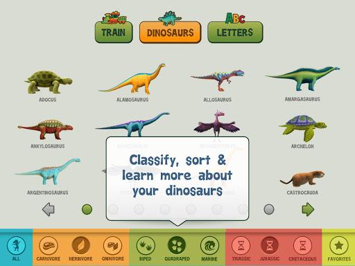 玩免費教育APP|下載Dinosaur Train A to Z app不用錢|硬是要APP