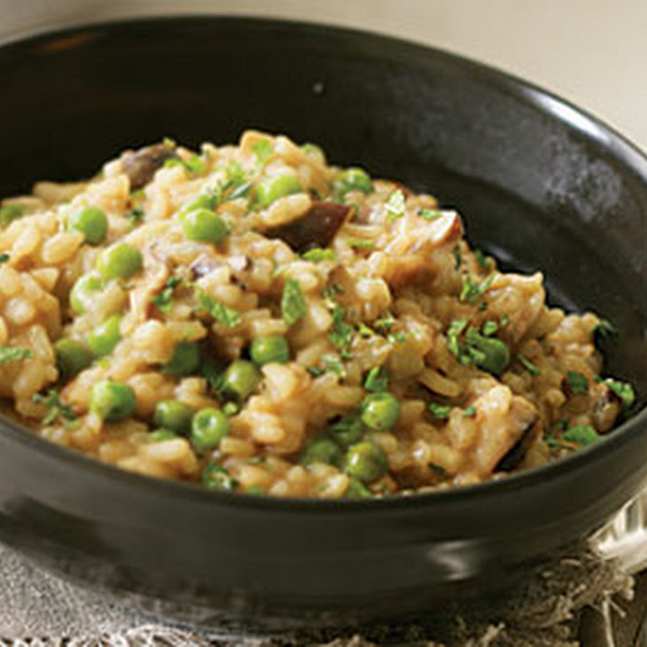 Risotto with Peas & Porcini Recept | Yummly
