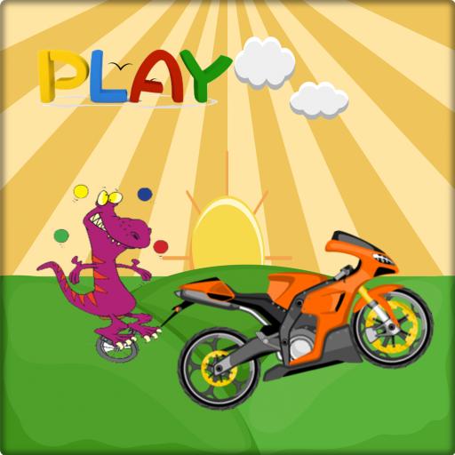 Dinosaur Moto Racing