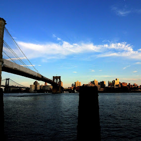 Sunset over Brooklyn by Mithun Das - Landscapes Sunsets & Sunrises