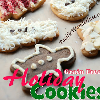Paleo Holiday Sugar Cookie