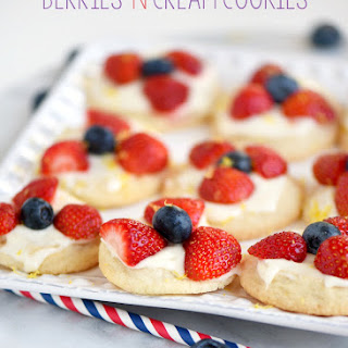 Berries And Cream Cookies Recipes