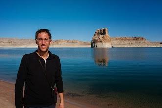 Photo: Daniele at Lake Powell, Arizona, USA