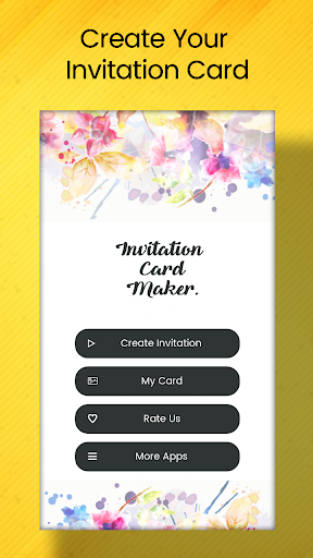 Invitation Card Maker On Pc Mac