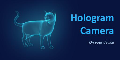 3D Cat Hologram