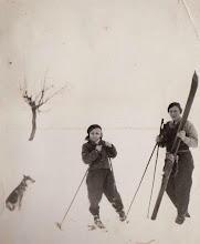Photo: Rok 1939.Kazimierz Aksamit z Zofią Aksamit.  Zdjęcie udostępnione prze P.Ewe Aksamit.
