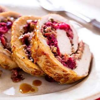 Cranberry-Rosemary Stuffed Pork Loin.