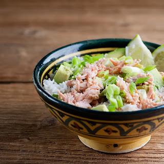 Sesame Salmon Rice Bowl.