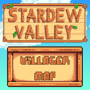 Stardew Valley Villager Map
