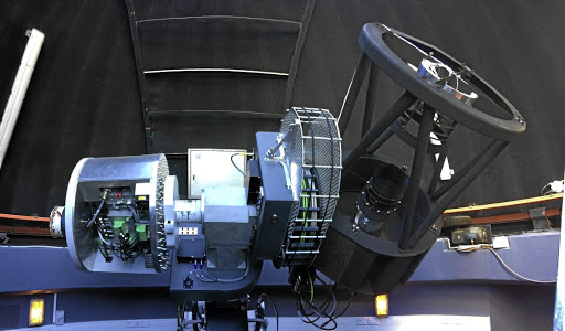 Paired sky eyes: A new optical telescope in Sutherland will be directly linked to the MeerKAT radio telescope in Carnarvon, more than 200km away. Picture: SUPPLIED