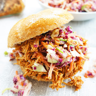 BBQ Pulled Chicken Sandwiches.