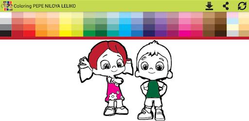 Boyama Pepe Nilouya Liliko Indir Pc Android Comcoloringpepee