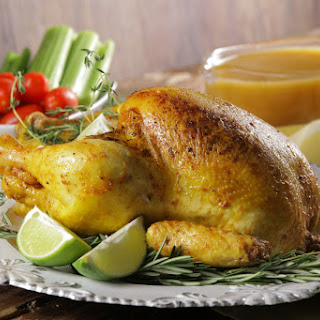Lemon Roasted Chicken for new year eve