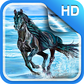 Horses Live Wallpaper HD