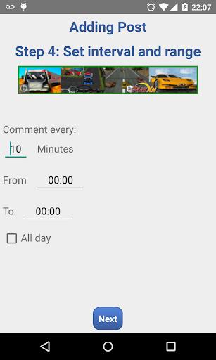 Auto Comment  screenshots 8