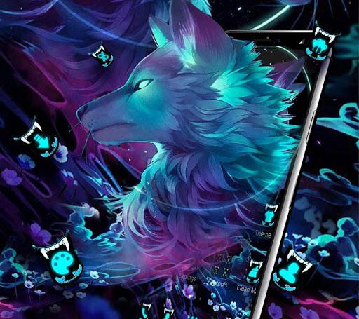 Dark Night Magic Wolf Theme 1.1.1 screenshots 2