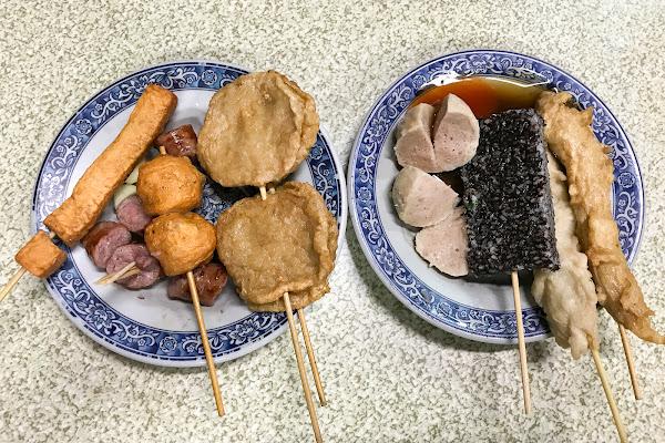 體育場 阿輝黑輪 N訪百吃不厭的銅板美食!在地人最愛的台式下午茶!