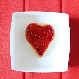 love is dessert by Vipul Sodhi - Food & Drink Candy & Dessert ( love, red, heart, no people, food, dessert,  )
