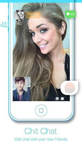 Omega Random Video Chat Omegle 1.0 screenshots 5