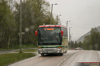 Photo: F#: KH 61930 i Fogd Holmboes gate, Setermoen, 07.06.2012. Furuly Turbuss AS, Bardu.
