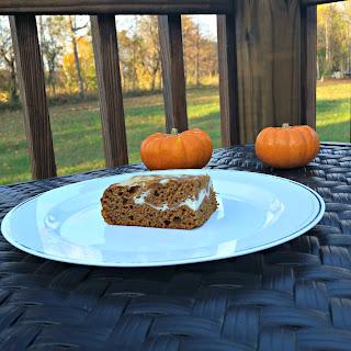 Pumpkin Roll Bars Recipe.