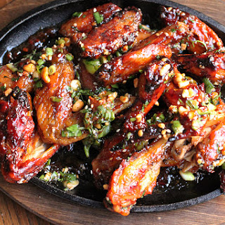 Thai Sticky Chicken Wings