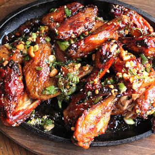 Thai Sticky Chicken Wings.