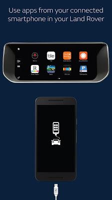 Land Rover InControl Apps - screenshot