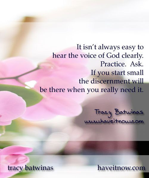 Nancy's View - Do You Have Solid Discernment?