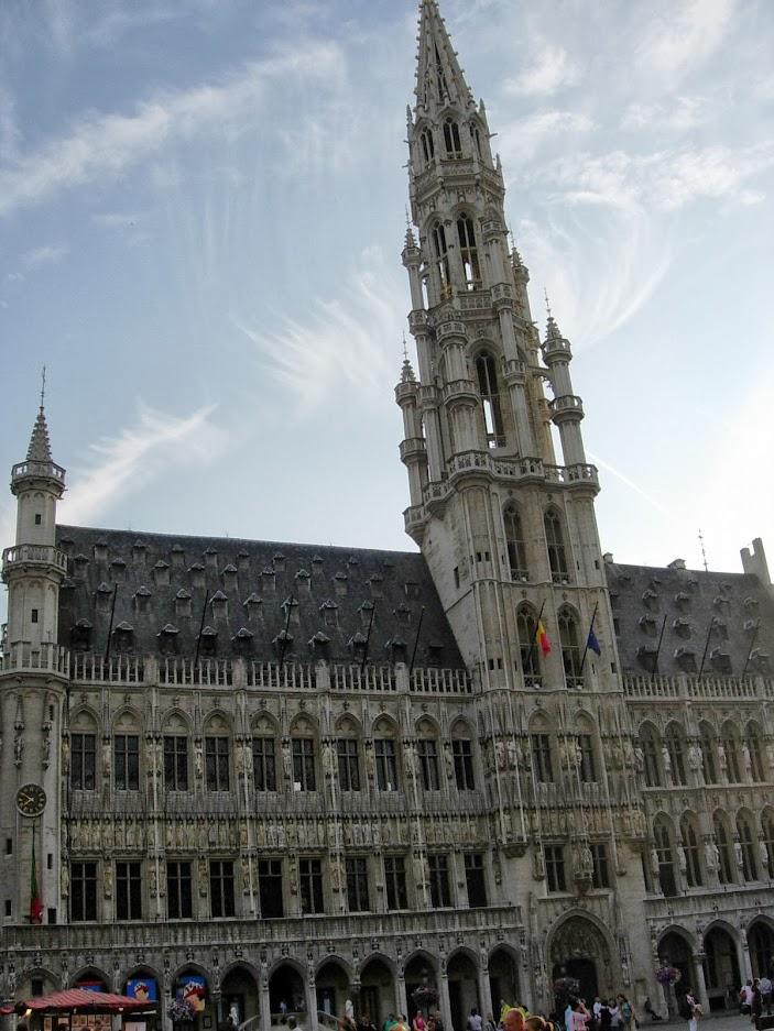 Hôtel de ville à Bruxelles