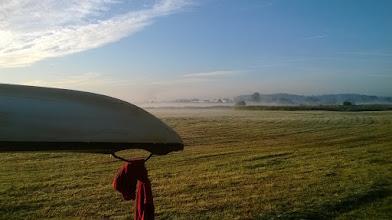 Photo: nocleg miał miejscew pobliżu Drwęcy