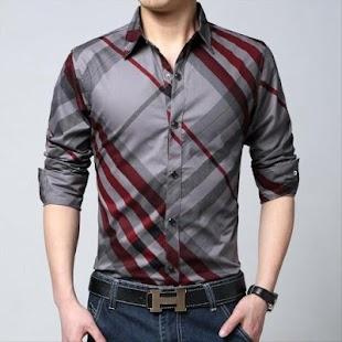 Pánská příležitostná košile - náhled