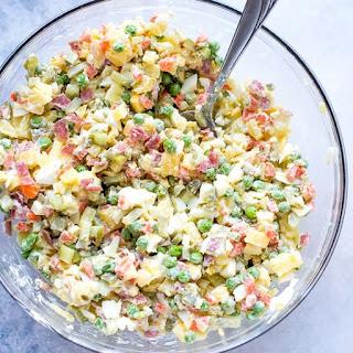 Olivier Russian Salad Recipe